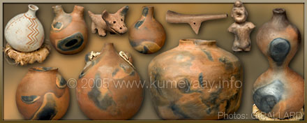 NATIVE AMERICAN CLAY POTTERY