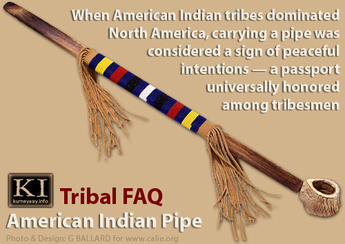 AMERICAN INDIAN PIPE - PASSPORT