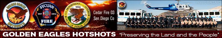 GOLDEN EAGLES CALIFORNIA HOTSHOTS