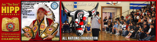 JOE HIPP ALL NATIONS FOUNDATION