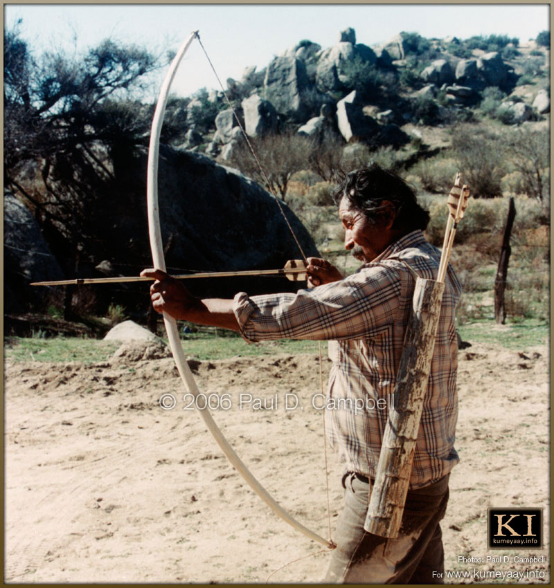 Indian Bow And Arrow