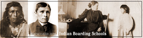 HISTORICAL INDIAN BOARDING SCHOOLS RESEARCH
