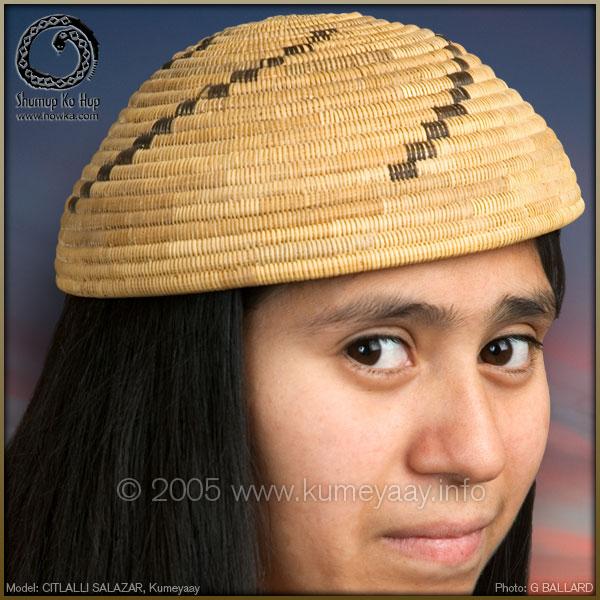 KUMEYAAY BASK HAT Picture. 4e65144bce9