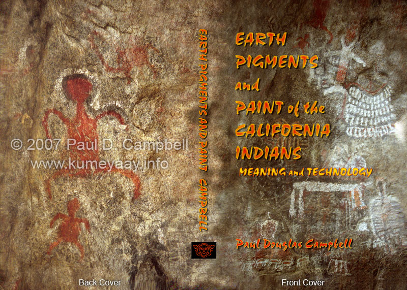 EARTH PIGMENTS PAINT CALIFORNIA INDIANS