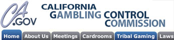 Ca gambling commission casino new stone turning york
