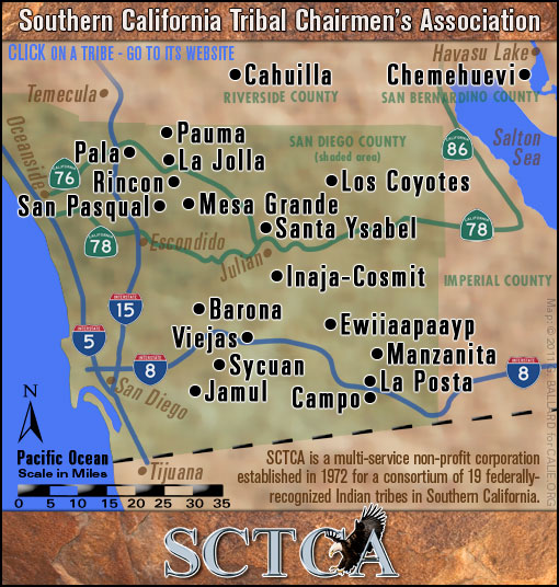 Indian Tribes In Us Map.Southern California Indians 19 Federally Recognized Tribes Of County