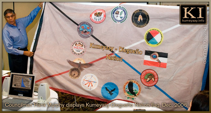 Kumeyaay Diegueno Nation Flag Picture...